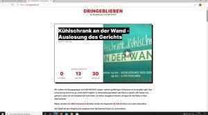 Website: dringeblieben.de mit Link