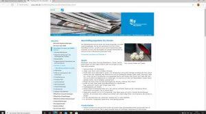 Website: obk.de mit Link auf die Seite mit Beschäftigungsideen