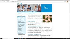 Website: obk.de mit Beschäftigungsseite