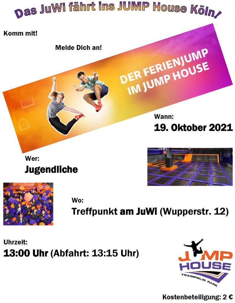 Das JuWi fährt ins JUMP House Köln!